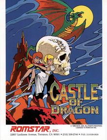 Box art for the game Dragon Unit (Castle of Dragon)