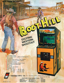 Box art for the game Boot Hill