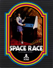 Box art for the game Space Race