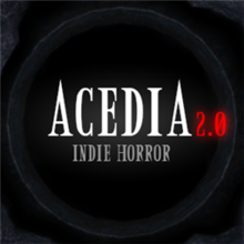 Box art for the game Acedia: Indie Horror