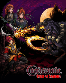 Box art for the game Castlevania: Order of Shadows