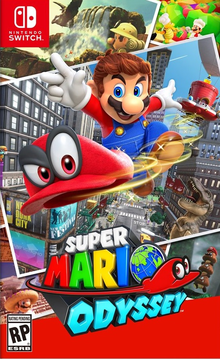 Box art for the game Super Mario Odyssey