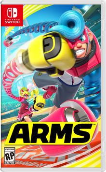 Box art for the game Arms