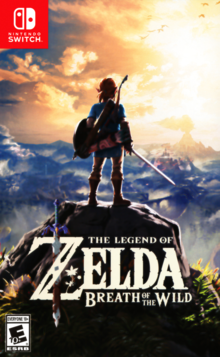 Box art for the game The Legend of Zelda: Breath of the Wild