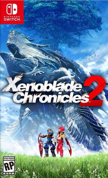Box art for the game Xenoblade Chronicles 2