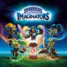 Box art for the game Skylanders Imaginators