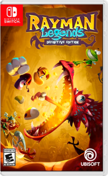 Box art for the game Rayman Legends: Definitive Edition