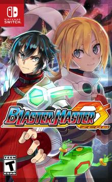 Box art for the game Blaster Master Zero