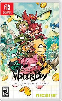 Box art for the game Wonder Boy: The Dragon's Trap