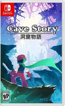 Box art for the game Cave Story +