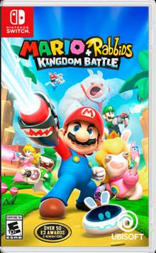 Box art for the game Mario + Rabbids Kingdom Battle