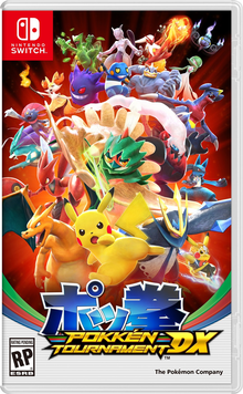 Box art for the game Pokken Tournament DX