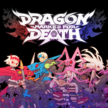 Box art for the game Dragon Marked for death