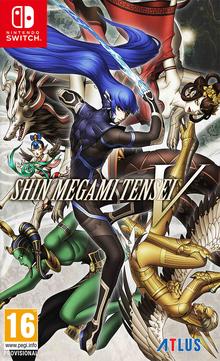 Box art for the game Shin Megami Tensei V