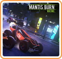 Box art for the game Mantis Burn Racing