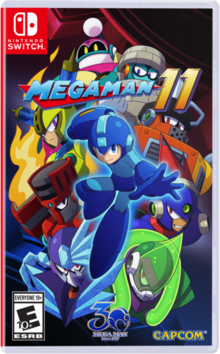 Box art for the game Megaman 11