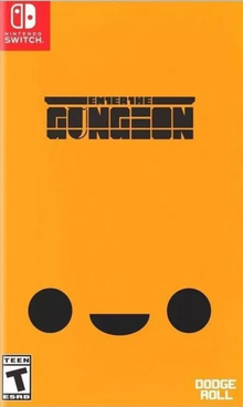 Box art for the game Enter the Gungeon