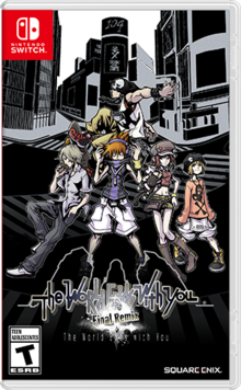 Box art for the game The World Ends With You: Final Remix