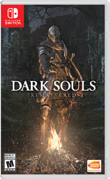 Capa do jogo Dark Souls Remastered