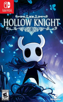 Box art for the game Hollow Knight