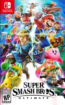 Box art for the game Super Smash Bros