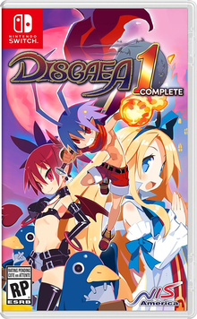 Box art for the game Disgaea 1 Complete