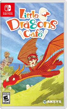 Box art for the game Little Dragons Café