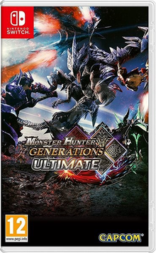 Box art for the game Monster Hunter Generations Ultimate