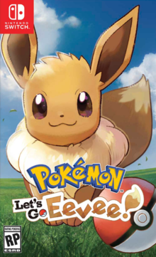 Box art for the game Pokémon Let's Go Eevee!