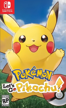 Box art for the game Pokémon: Let's Go, Pikachu!