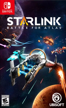 Box art for the game Starlink: Battle for Atlas