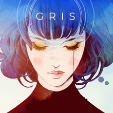 Box art for the game Gris