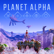 Box art for the game Planet Alpha