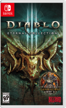 Box art for the game Diablo III: Eternal Collection