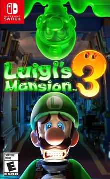 Box art for the game Luigi's Mansion 3