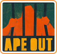 Box art for the game Ape Out