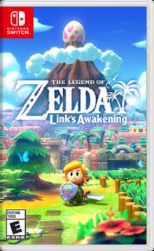 Box art for the game The Legend of Zelda: Link's Awakening