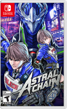 Box art for the game Astral Chain