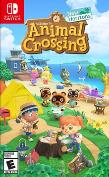 Box art for the game Animal Crossing: New Horizons