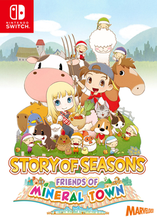 Box art for the game Story of Seasons: Friends of Mineral Town