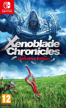Box art for the game Xenoblade Chronicles: Definitive Edition
