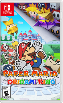 Box art for the game Paper Mario: The Origami King