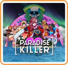 Box art for the game Paradise Killer