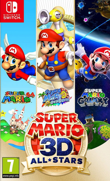 Box art for the game Super Mario 3D All-Stars