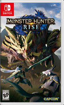 Box art for the game Monster Hunter Rise
