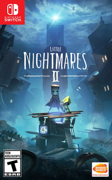 Box art for the game Little Nightmares II