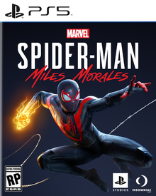 Box art for the game Marvel's Spider-Man: Miles Morales