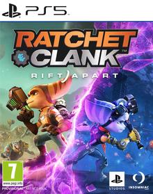 Box art for the game Ratchet & Clank: Rift Apart