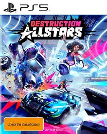 Box art for the game Destruction Allstars
