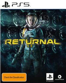 Box art for the game Returnal